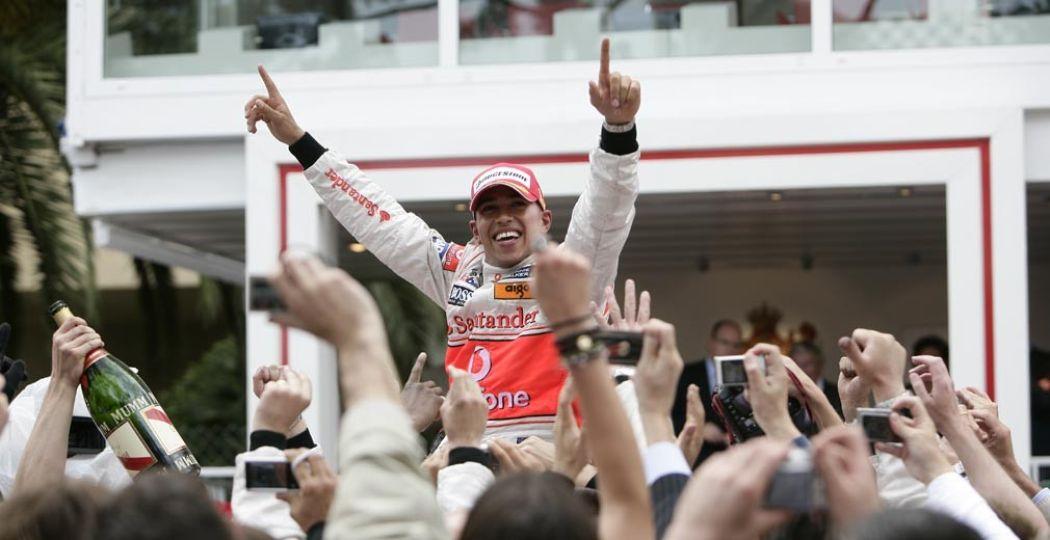 Lewis Hamilton, wereldkampioen in 2008. Foto: Louwman Museum