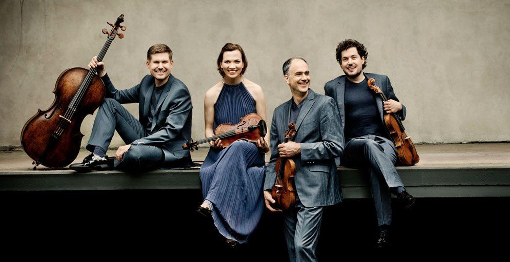 Op 8 mei speelt het Signum Quartett live vanuit de Edesche Concertzaal 'Der Tod und das Mädchen' van Schubert. Foto: Irène Zandel