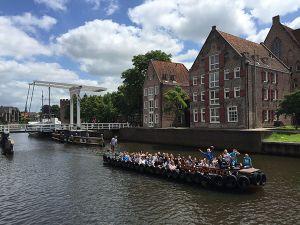 Maak een rondvaart door Zwolle