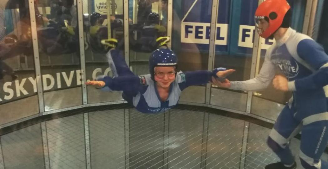 Virtual Reality Indoor Skydive