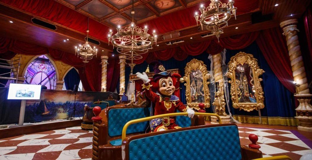 Efteling opent binnenkort de nieuwe attractie: Symbolica. Foto: Efteling