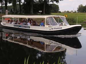 Varen door de grachten in Zwolle