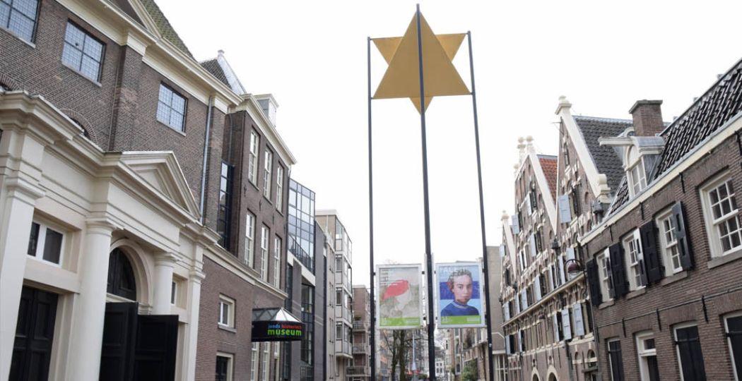 Midden in het Joods Cultureel Kwartier vind je het Joods Historisch Museum. Foto: DagjeWeg.NL.