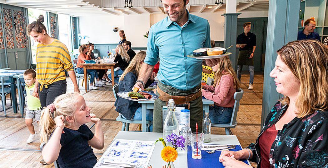 In Den Bosch kun je heerlijk pannenkoeken eten bij Pannenkoekengoed. Dat gaat er bij kinderen altijd wel in. Foto: Pannenkoekengoed © Nabor Dupont