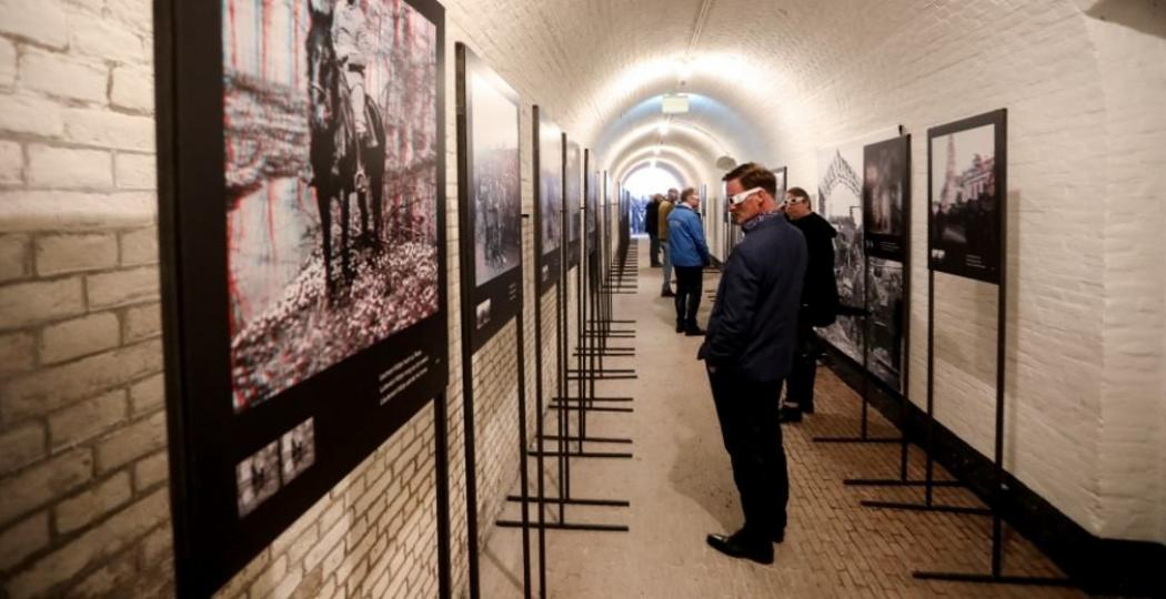 De tentoonstelling Front 14/18. Foto: Waterliniemuseum