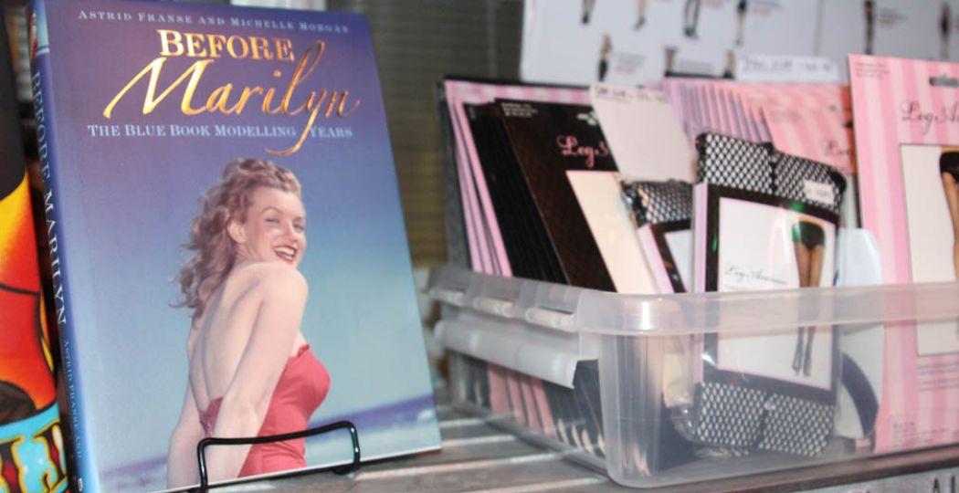 Astrid Franse schreef samen met Michelle Morgan het boek Before Marilyn naar aanleiding van de vondsten. Foto: Redactie DagjeWeg.NL.