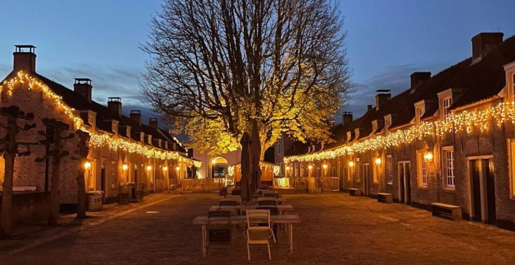 Bezoek Loevestein in kerststemming. Foto: Slot Loevestein