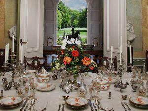 De eetkamer in Museum Huis Doorn.
