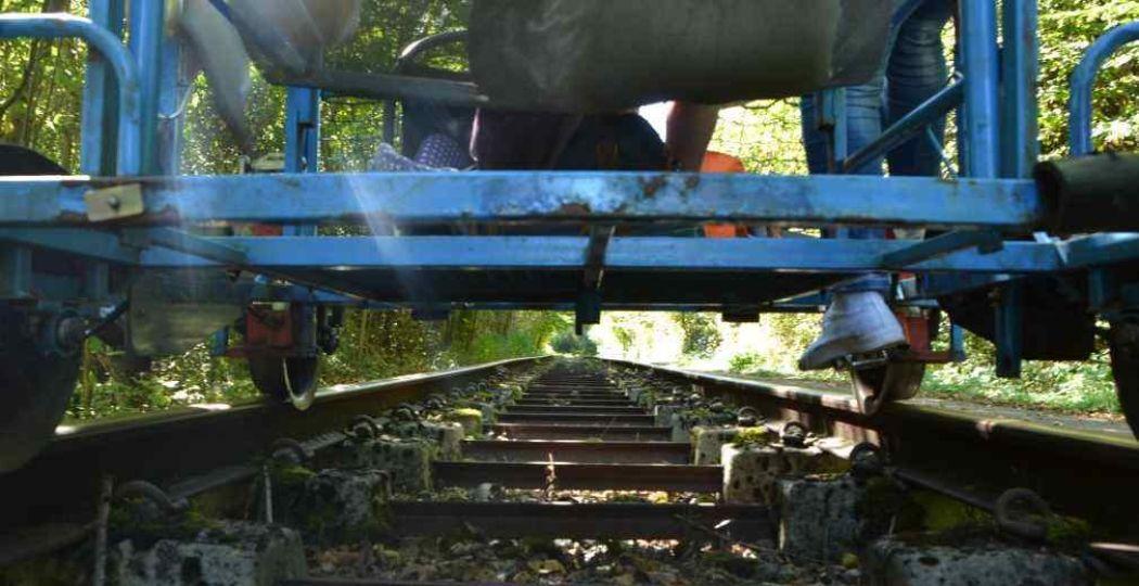 Fiets over het oude spoor! Foto: DagjeWeg.NL