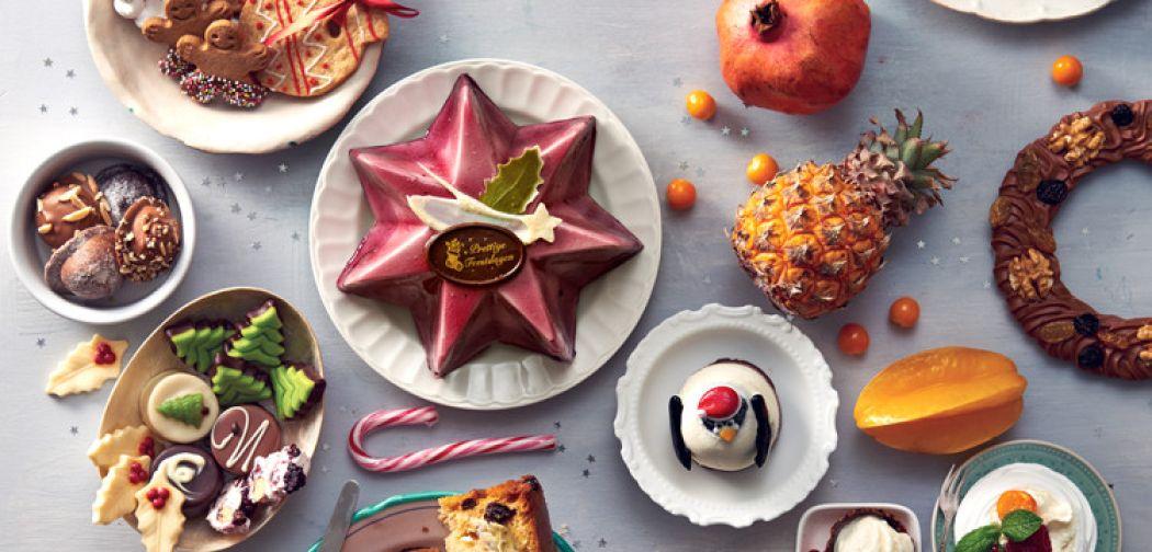 Nagerechten, chocolade, koekjes en meer zoetigheid: geniet van de feestdagen! Foto: Allerhande Kerstfestival.