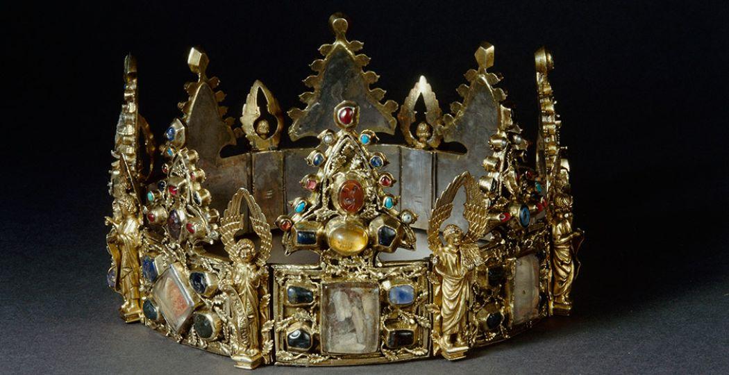 Foto: Museum Catharijneconvent. Reliekhouder met fragmenten van de doornenkroon van Christus, RMN-Grand Palais (Musée du Louvre).