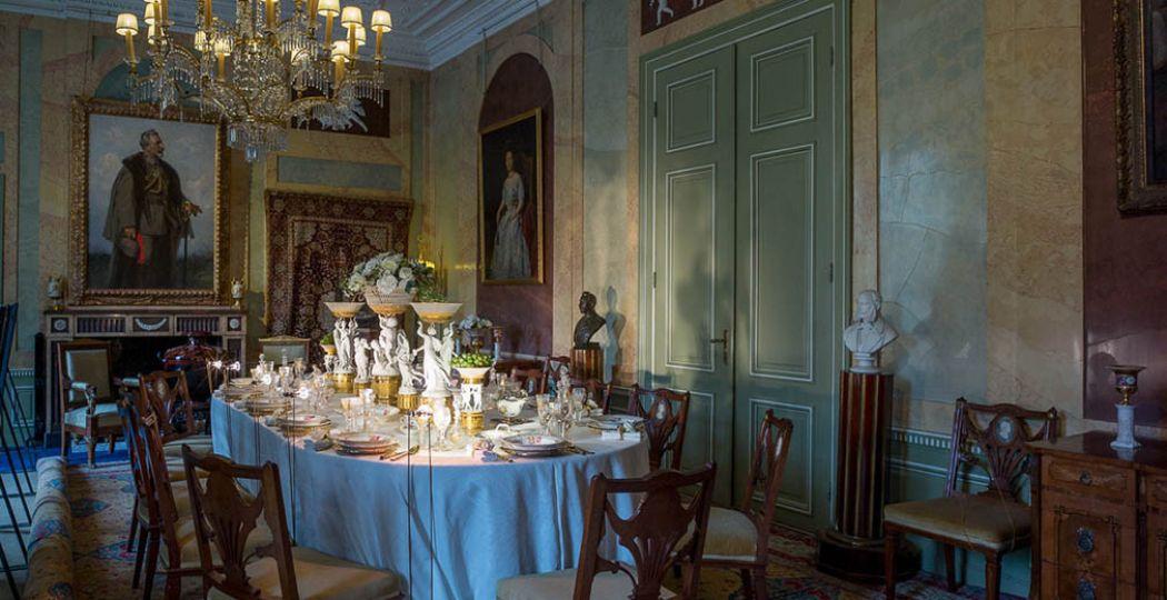 Bekijk het weelderige interieur van Huis Doorn, met kunst en dure spullen van keizer Wilhelm II. Foto: Huis Doorn.
