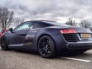 Maak een onvergetelijke rit in een Audi R8. Foto: Drive the Passion.