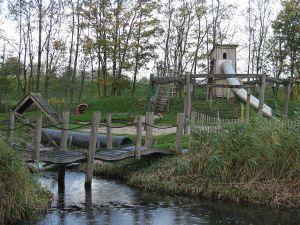 Klim en klauter in Speeltuin de Speelkraam. Foto: DagjeWeg.NL