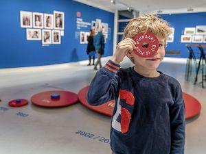 Het museum vind je in het centrum van de mediastad. Foto: Museum Hilversum