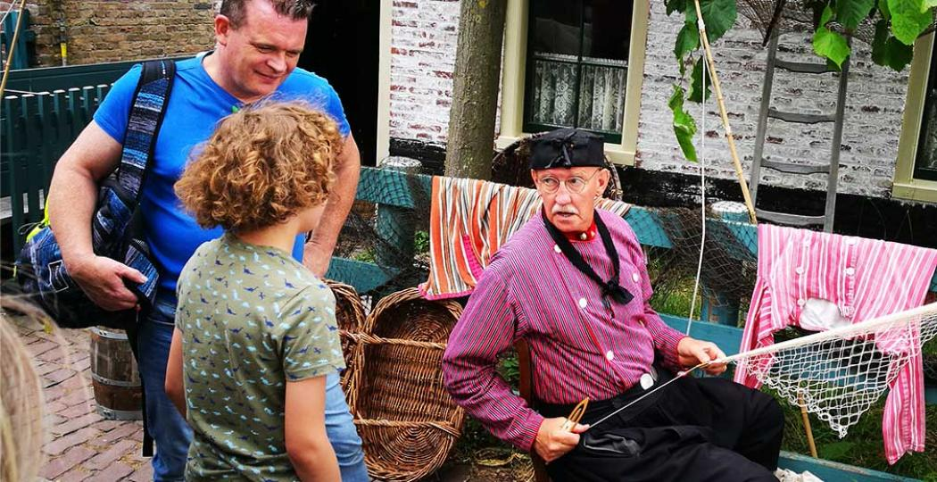 In het Zuiderzeemuseum in Enkhuizen duik je in een wereld vol nostalgie. Foto: DagjeWeg.NL.