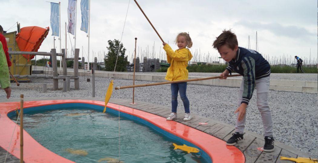 Vissen vangen in het Zuiderzeemuseum. Foto: DagjeWeg.NL / Grytsje Anna Pietersma