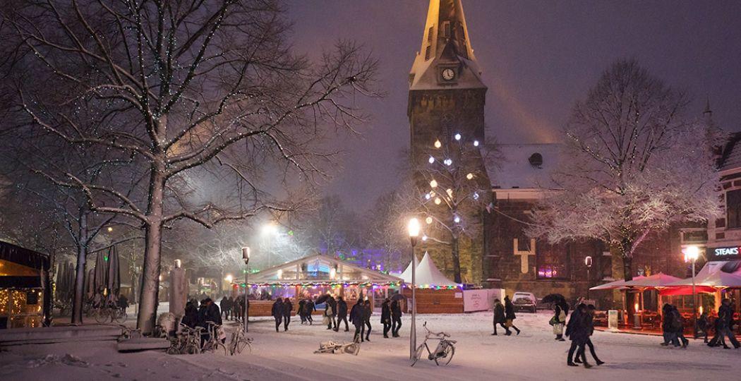Enschede is tot en met 5 januari 2020 de ultieme winterstad. Foto: Winter Wonderland Enschede © Ebo Fraterman.