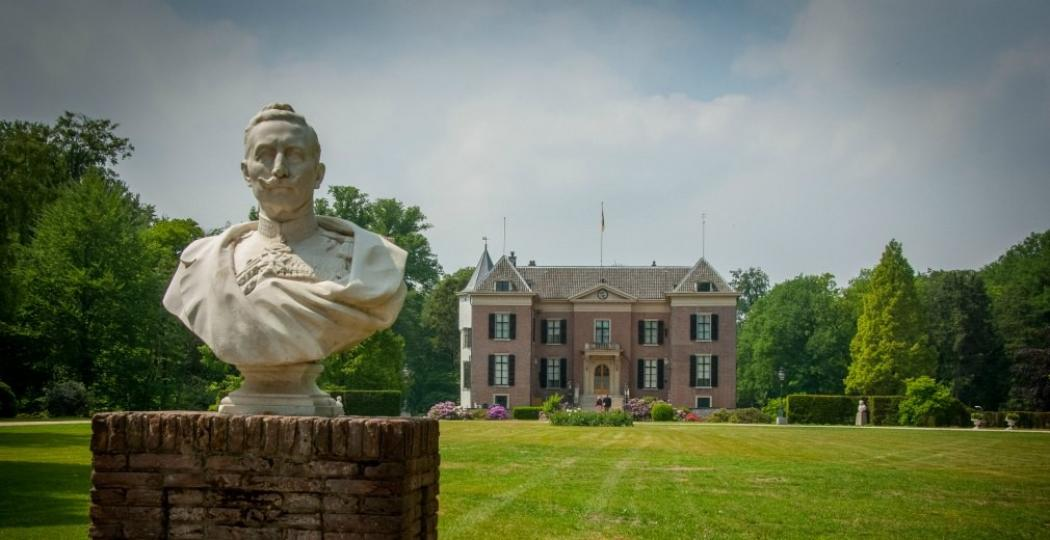 Keizer Wilhelm II nam aan het eind van de Eerste Wereldoorlog zijn intrek in Huis Doorn. Foto: © Huis Doorn