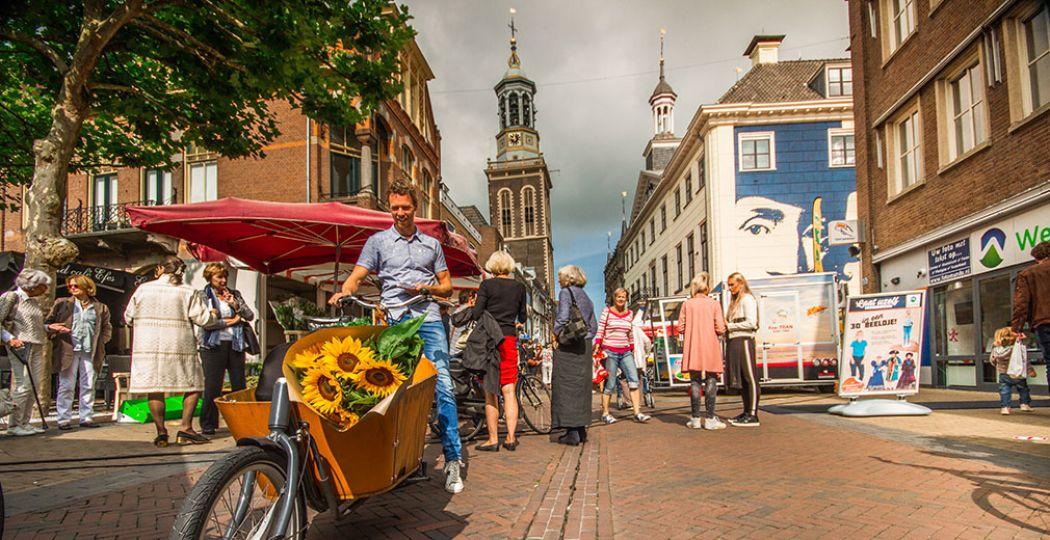 Monumentale panden, oude steegjes en mooie pleinen: Hanzestad Kampen is een plaatje. Foto: MarketingOost / Bertrik Hakvoort