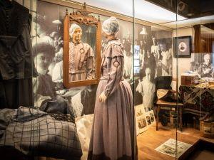 Een boeren woonkamer in 1900. Foto: Museum Vreeburg