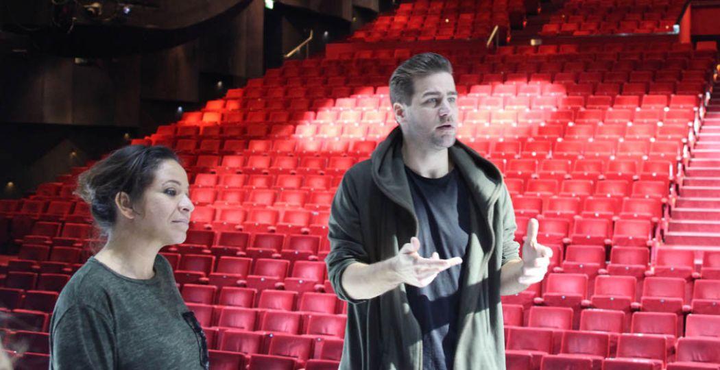 Nurlaila Karim en Dave Mantel vertellen over het leven als musicalster. Foto: Redactie DagjeWeg.NL