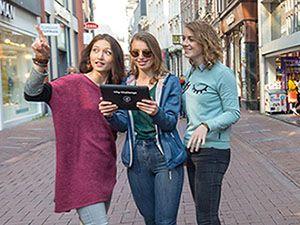 Kies je route uit en ga op avontuur. Foto: City Challenge App