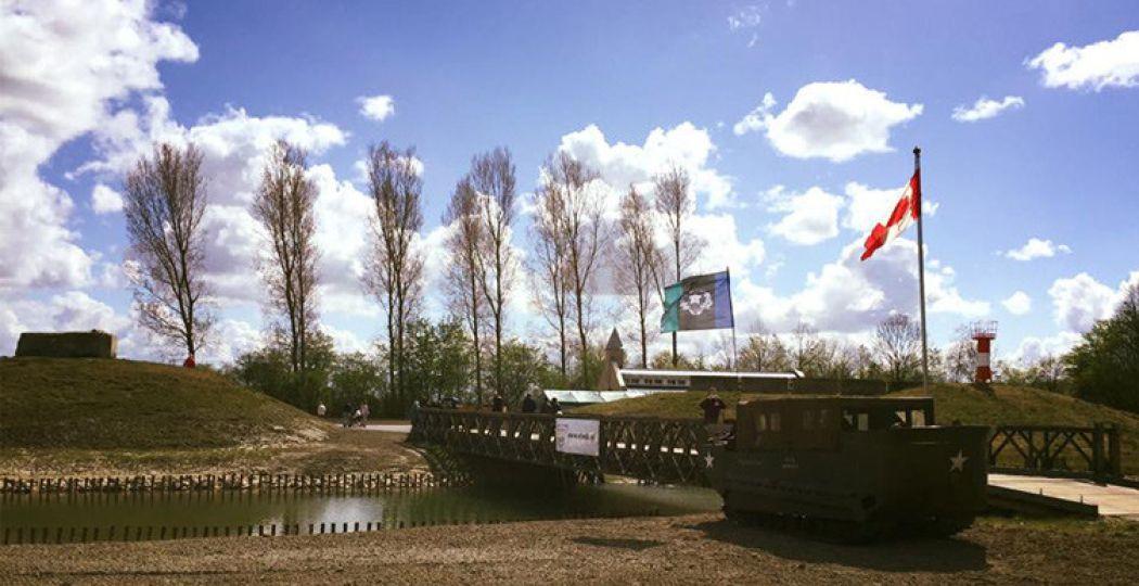 Bevrijdingspark in Nieuwdorp. Foto:  Facebookpagina Bevrijdingsmuseum Zeeland