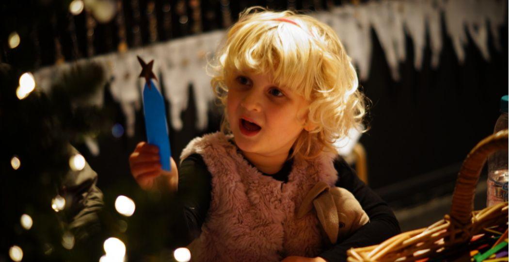 Kom knutselen bij Kerstival in Utrecht. Foto: Lotte Proce.