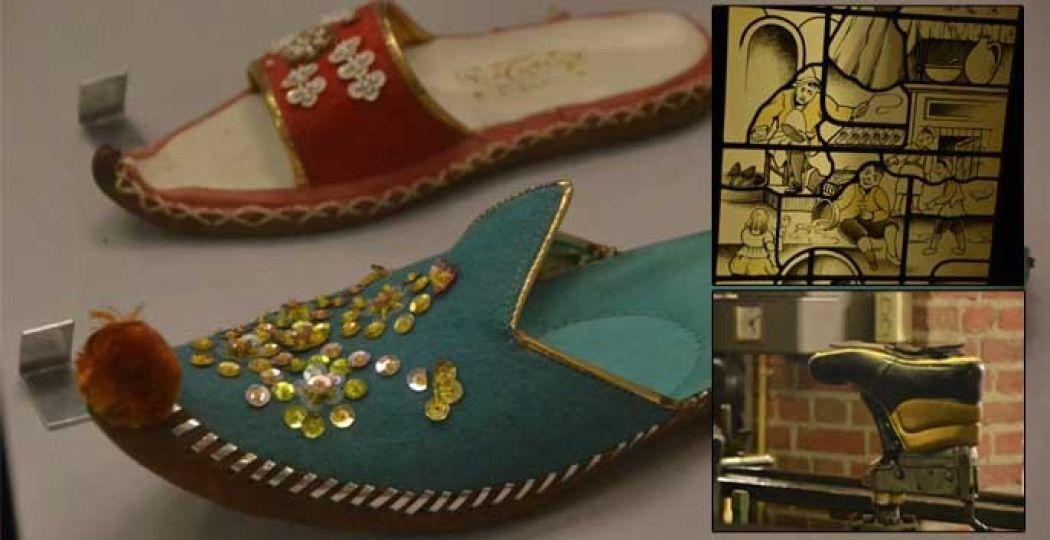 Ontdek in het Leder- en Schoenenmuseum de geschiedenis van je eigen schoen! Foto's: DagjeWeg.NL