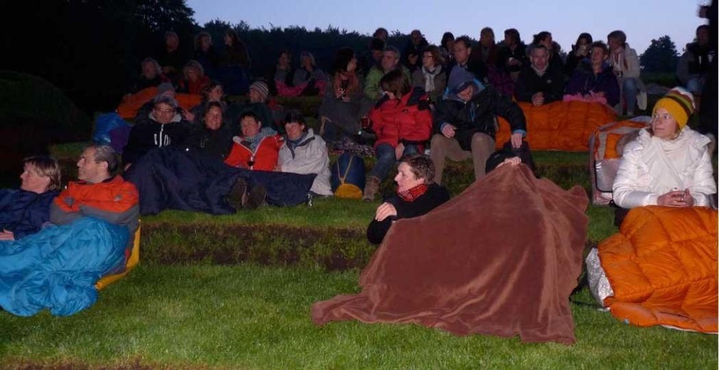 Kruip onder je deken en geniet! Foto: Tuin de Lage Oorsprong.