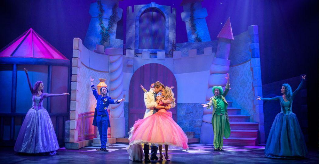 Het verhaal van Doornroosje de Musical eindigt natuurlijk happy! Foto: Wim Lanser