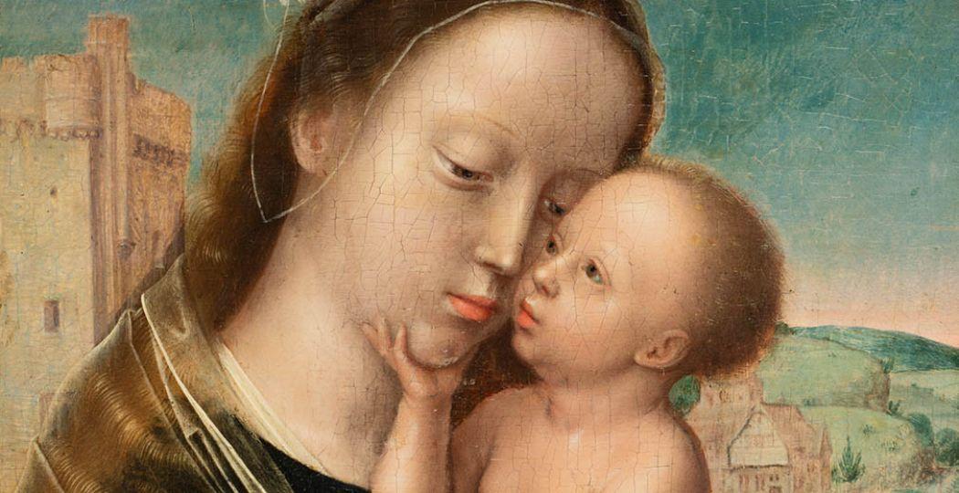 Maria met kind, atelier Adriaen Isenbrant (naam vervaardiger onzeker), ca 1520, Museum Catharijneconvent, Utrecht.
