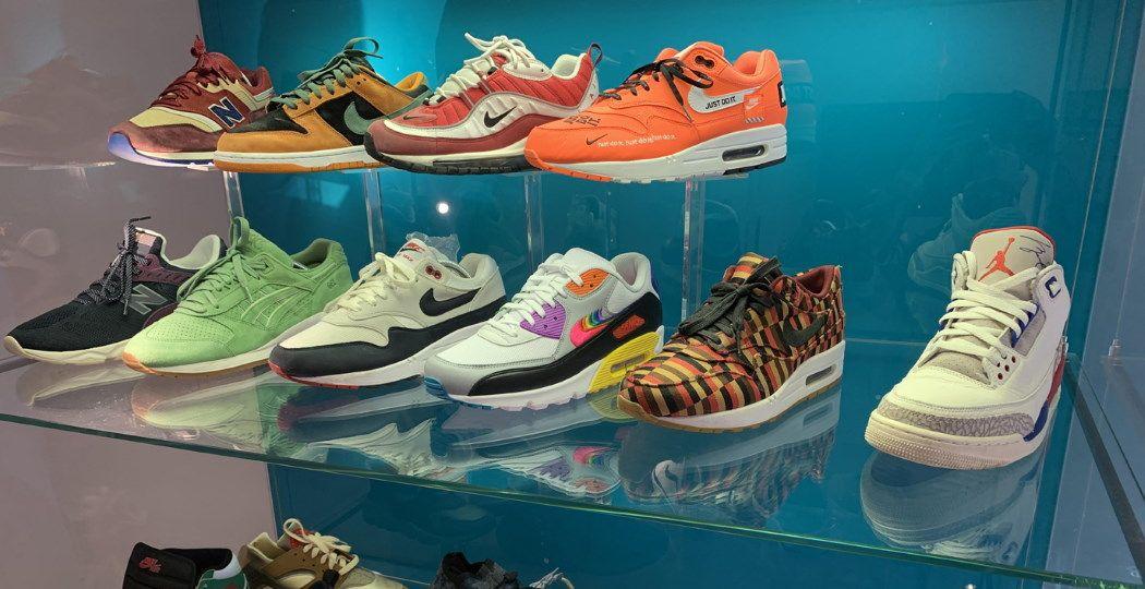 Sneakers zijn kunst! Foto: Stedelijk Museum Almelo