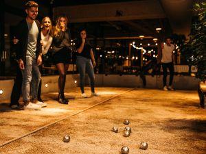 Foto: JEU de boules bar Utrecht © Fille Roelants.
