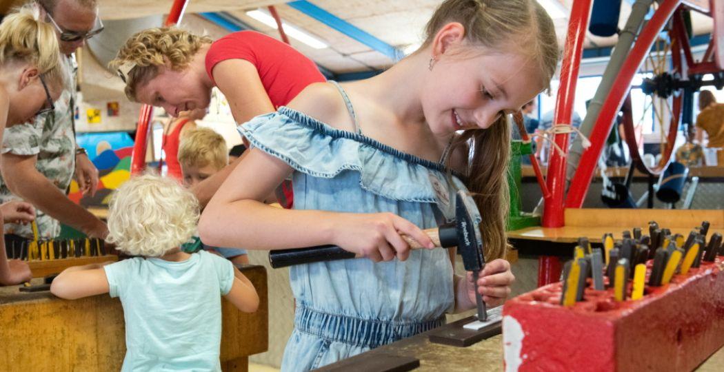 Kom spelen, ontdekken en zelf dingen maken bij De Spelerij! Foto: De Spelerij - Uitvinderij.