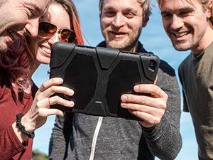 Een iPad wijst je de weg door je avontuur en door de stad. Foto: Hero Adventures