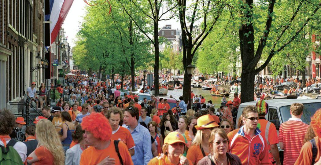 Koningsdag is altijd een groot feest. Foto: NBTC Holland Marketing