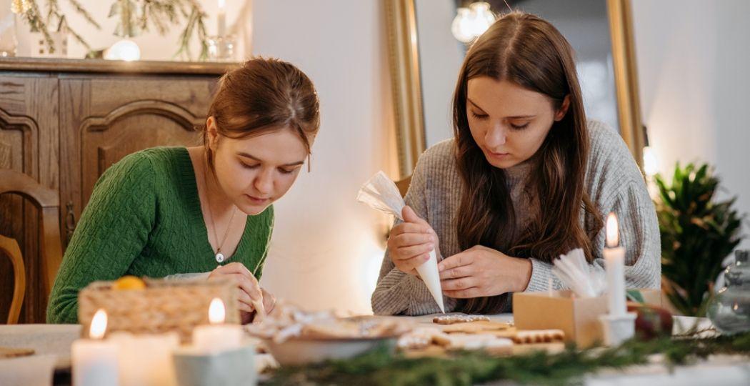 Ga thuis aan de slag voor sint of kerst met een online workshop. Foto:  Pexels.com