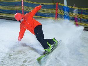 Trotseer de piste. Foto: SnowWorld Ruchpen.