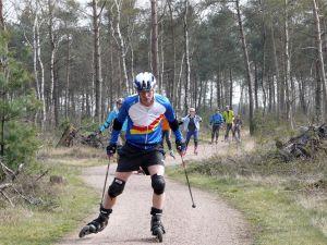 Cross skaten en rolskiën