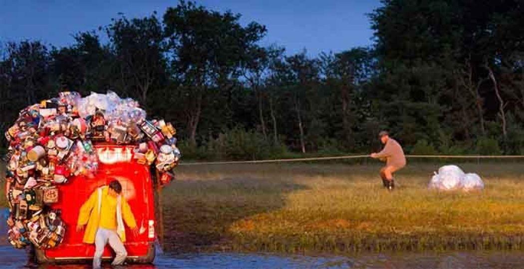 De verbinding met de natuur is één van de pijlers van het festival. Foto: Oerol