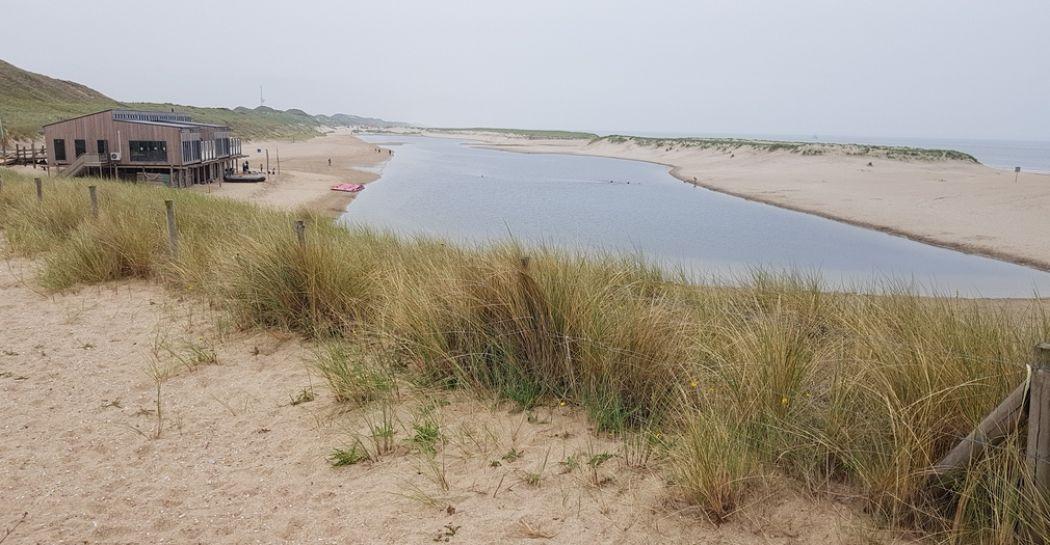De lagune bij Camperduinen in de Kop van Noord-Holland. Foto: DagjeWeg.NL © Henk Arendse