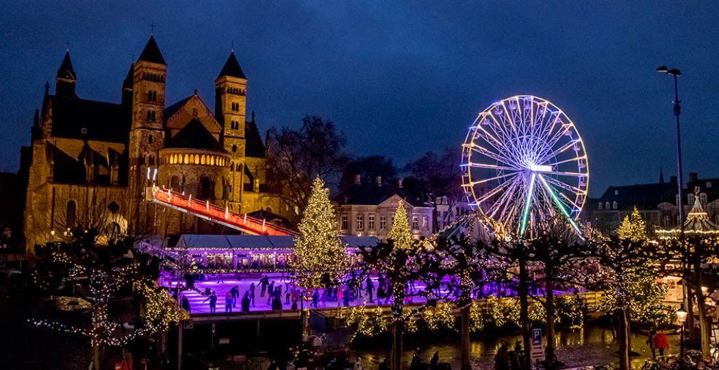 Het Vrijthof is het magische middelpunt van Maastricht. Foto: VVV / Maastricht Marketing © Focuss22.