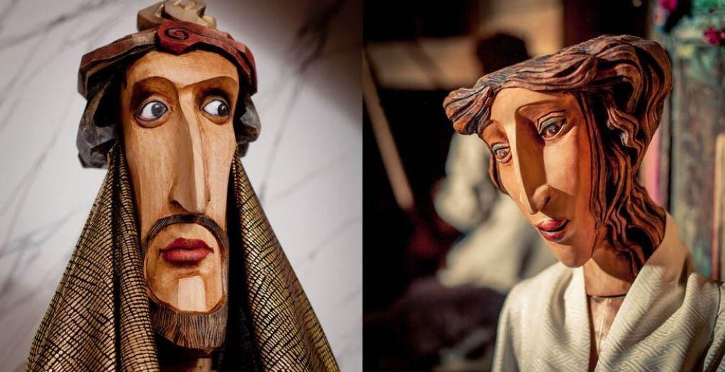 De houten beelden zijn gemaakt door de beste beeldhouwwerkers uit Tsjechië. Foto: Bigship BV.