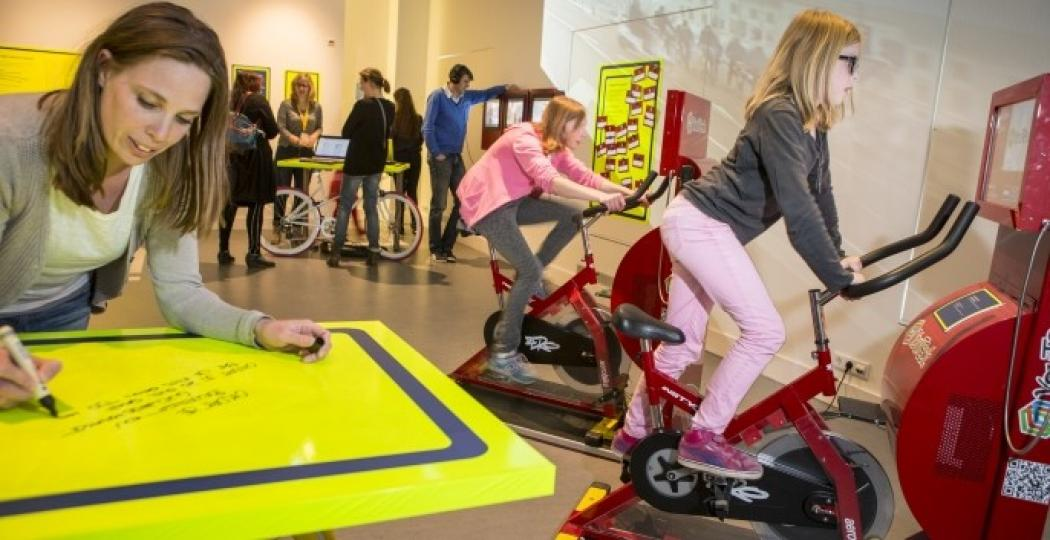 Spring achterop bij de wetenschap en kom langs bij het FietsLAB in het Universiteitsmuseum Utrecht! Foto: Universiteitsmuseum Utrecht