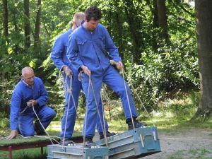 Teamwork op de werkplaats. Foto: De Spelerij.