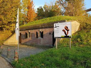 Kanonnen op de vestingwallen. Foto: DagjeWeg.NL © Tonny van Oosten