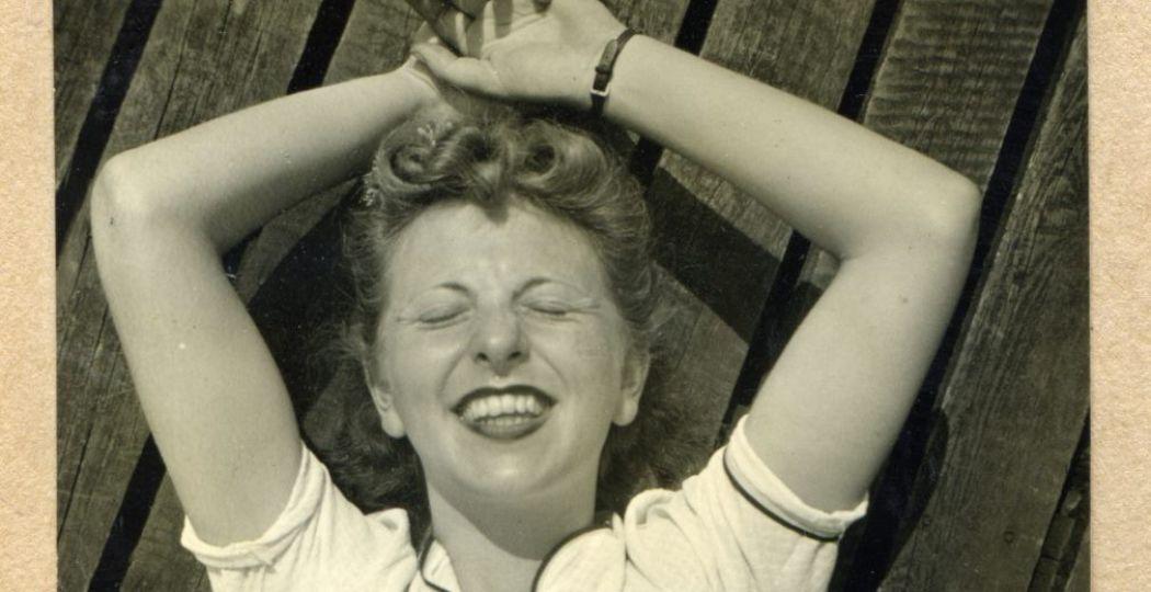 Roosje Glaser in 1941. Foto: Verzetsmuseum Amsterdam