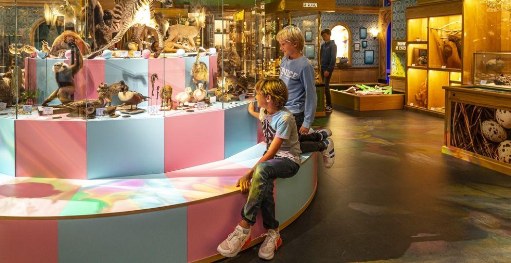 Bezoek een museum in de herfstvakantie! Het is dan weer Museumkidsweek en veel musea hebben leuke kinderactiviteiten. Zo kun je in Naturalis met een speciale kaart op expeditie door de natuur. Foto: Naturalis © Koen Mol Fotografie